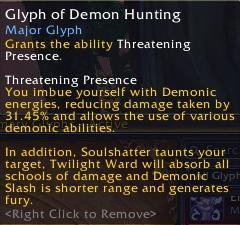 Demonology Warlock tanking??? Glyph-of-demon-hunting