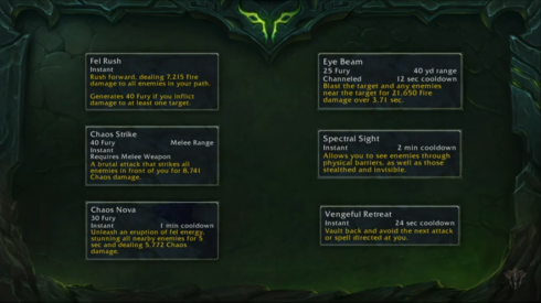 Demon Hunter Abilities